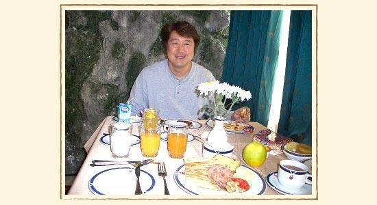 イランでの朝食