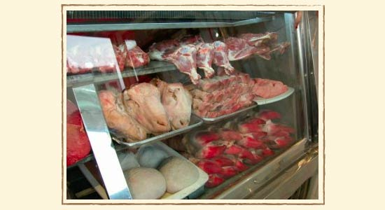 イランの肉屋