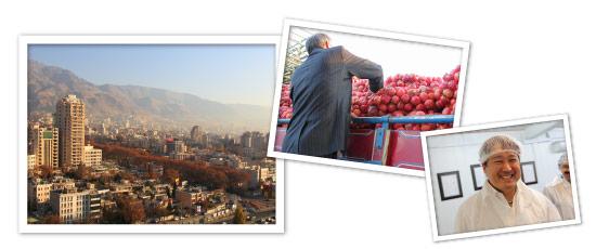 イランのテヘランの風景