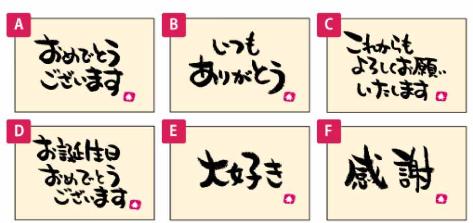 カードの見本1