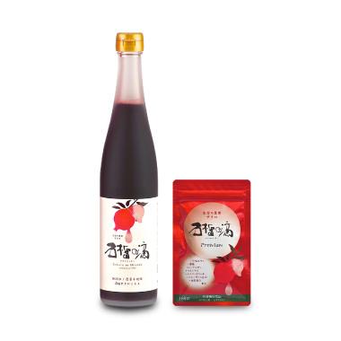 【定期】ザクロのしずくPREMIUM(石榴の滴プレミアム)サプリ1個+瓶1本コース