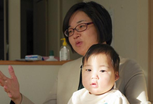 木村さまと赤ちゃん