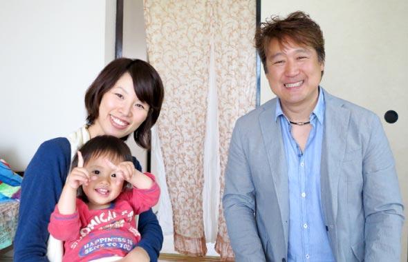 ユーカリ様とお子さまとザクロ屋代表